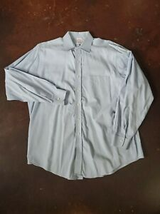 Brooks Brothers Button Down Shirt Men's 16 1/2 - 34 Classic Fit Blue