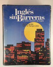 Ingles sin Barreras El Video Maestro de Ingles 8 Su Familia El Tiempo Libre New