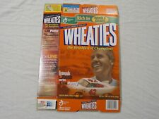 Lee Petty #42 Nascar Legends Of Racing Wheaties Cereal Box (Flat) 2001