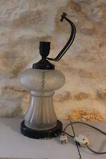 Vintage - Ancienne lampe à restaurer EMP. Turhoteles - Eagles USA Verre dépoli