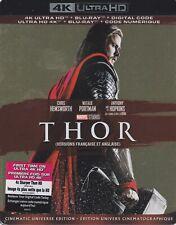 THOR 4K ULTRA HD & BLURAY & DIGITAL SET with Chris Hemsworth & Natalie Portman