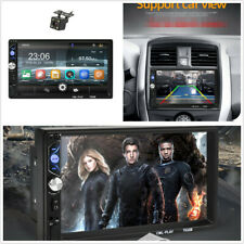 7in Dual DIN Car Stereo Radio Multimedia MP5 Player With Rear View Camera Kits