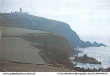 BR91093 sumburgh head lighthouse shetland  scotland
