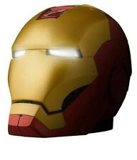 iHome Marvel Iron Man Bluetooth Speaker Eyes Light up Collectors Edition New