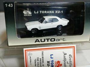 Holden Torana LJ GTR XU1 Glacier White Limited Edition 1:43 BIANTE