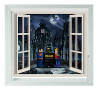Window Blocks Batman Movie Printed Photo black out roller blinds various sizes