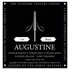 Augustine Classical Guitar Strings Black Label Low Tension