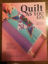 Quilt-As-You-Go, Millett, Sandra, Book