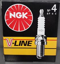 4 x  BP6E NGK V-Line 4 Zündkerzen 5637, VL4, Mitsubishi, VW Mercedes Audi BMW #