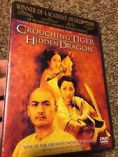 Crouching Tiger, Hidden Dragon (Dvd, 2001) New Sealed