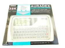 AURADEX AX 1200 Electronic Data Organizer Vintage PDA 1989 Japan New in Box