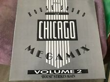maxi 45t VARIOUS - The House Sound Of Chicago - Megamix Vol. 2  (a39)
