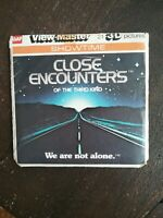 GAF Viewmaster Close Encounters of a third kind 3D reels