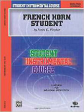 French Horn Student: Level Two (Intermediate) (Student Instrumental Course), New