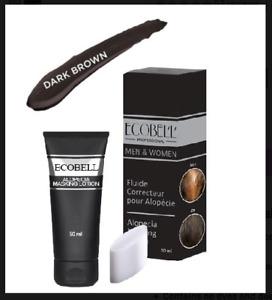 Ecobell Hairloss & Scalp Concealing Cream Lotion 50ml DARK BROWN