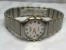 BEAUTIFUL NOS SS/GOLD  LADIES RAYMOND WEIL COLISEUM 8086-1 WATCH