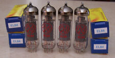JJ Tesla EL84 Tubes  Matched Quad **B Stock**