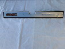 1981-1987 GMC Tailgate Molding Band Pickup Truck Trim Insert Panel
