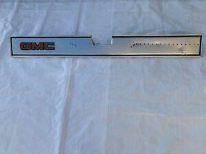 1981-1987 GMC Tailgate Tail Gate Molding Band Pickup Truck Trim Insert Panel