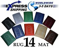 Lot 14 Different colors Pocket Prayer Rug Mat Travel portable Islamic Musallah