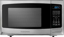 Insignia 0.9 Cu. Ft. Compact Microwave - Stainless steel