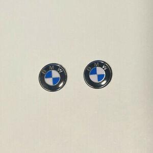 2 x BMW Key Fob Badge Logo Emblem Replacement Sticker 11mm Diameter - UK Seller
