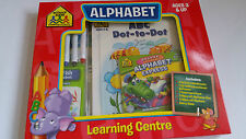 School Zone Alphabet Learning Centre Pack! Includes Workbooks, CD, Flash Cards