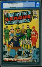 Justice League of America 8 CGC 7.5 Silver Key DC L@@K