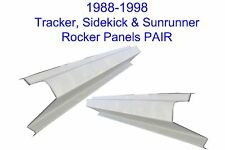1989-98 SUZUKI SIDEKICK GEO TRACKER ROCKER PANELS 2DOOR NEW PAIR! FREE SHIPPING!