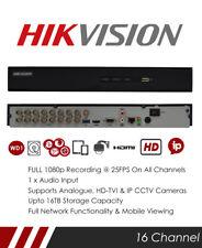 Hikvision DS-7216HQHI-K2 16 Channel TVI, DVR & NVR Tribrid CCTV Recorder