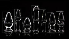 *** SET OF 7 STARTER SELECTION BUTT_PLUGS SEX GLASS_DILDO ANAL_TOY (7) ***