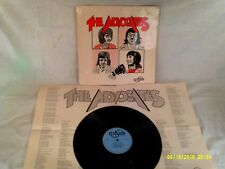 THE ADVOCATES, THE ADVOCATES, 1973, ORIGINAL FOLDOUT LYRIC POSTER, VG+ CONDITION