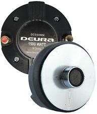 "DEURA®1500W 34MM 1.35"" Titanium Compression Driver Screw-on Horn Speaker Tweeter"