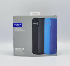 Ultimate Ears Boom 2 Kabelloser, Bluetooth Lautsprecher schwarz + blau NEU OVP
