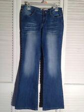11a0eedeec l.e.i. Ashley Lowrise Boot Cut Jeans Size 9 Regular Juniors Stretch Inseam  31