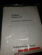 Trillium panther 612 telephone system service manual