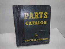 John Deere Parts Catalog Binder Chuck Wagon Sheller Mixer Crane
