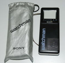 SONY Watchman FD-2E  Flat Black and White TV inkl. orig. Schutzhülle