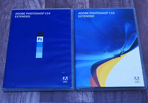 Adobe Photoshop CS4 Extended pre-owned retail GENUINE Windows XP-7