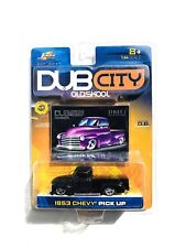 JADA DUB CITY 1953 CHEVY PICK UP TRUCK 1:64 SCALE