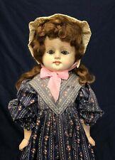 """19"""" Adorable Antique German """"Patent Washable"""" Composition/Papier-Mache Doll"""