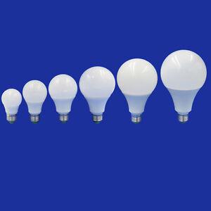 E27 LED Light Bulb 3W 5W 7W 9W 12W Globe Corn Lamp Lights 12-24V/AC 85-265V #T