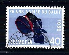 SWITZERLAND - SVIZZERA - 1958 - Serie di propaganda. 75° Esercito Salvezza 40 c.