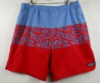 Vineyard Vines Men's Island Batik Printed Chappy Swim Shorts XL Swim NEW