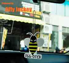 Jiffy Jockey - BEE-OTCH Angry Bee BUMBLEBEE OPTIMUS MINI Car Keychain
