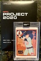 Topps PROJECT 2020 Card #63 - 2011 MIKE TROUT by Fucci with Box - Angels💥💥