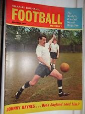 charles Buchan's Football monthly 1964 sept johnny Haynes no 157