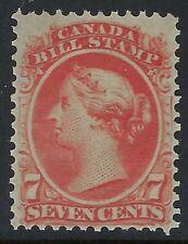 Van Dam FB24: 7c Queen Victoria Second Bill issue - F-VF-NH - Cat $75