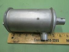 "Small engine muffler 7/8"" ID inlet 8"" by 3 1/2""  with 3/8 - 16 hole on end"