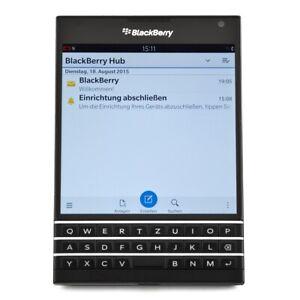 BlackBerry Passport 32GB schwarz Smartphone Neuware neutral verpackt